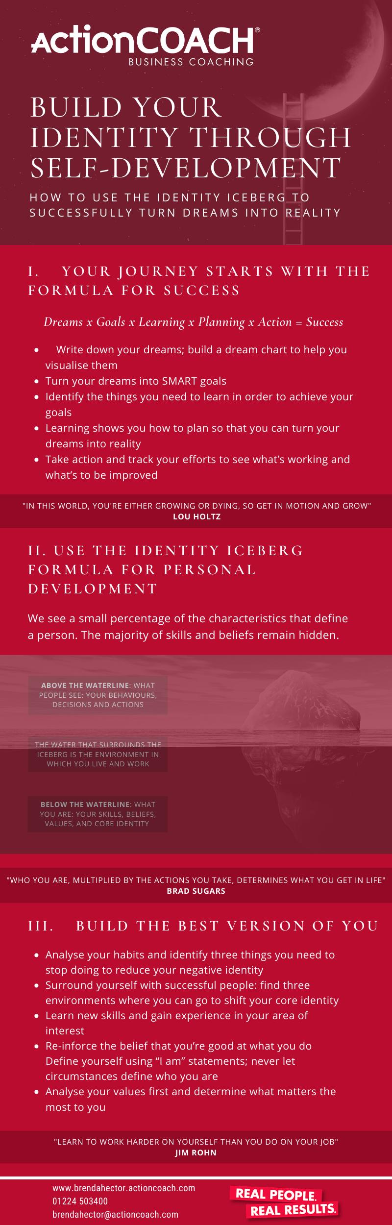 Build Your Identity Through Self Development